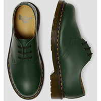 3 Eye Green Smooth Gibson by Dr. Martens