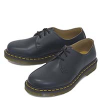 3 Eye Navy Smooth Gibson by Dr. Martens