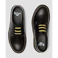 3 Eye Pascal Atlas Shoe in Dark Grey by Dr. Martens