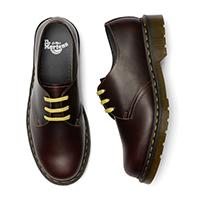 3 Eye Pascal Atlas Shoe in Oxblood by Dr. Martens