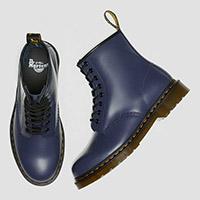 8 Eye Indigo Blue Smooth Dr Martens Boots