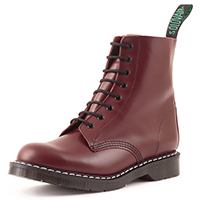Derby 8 Eye Boot in OXBLOOD by Solovair (Made In England!)