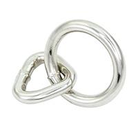 """Halter (Bondage) Ring- Medium (1.7"""")"""