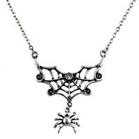 Spider Web Pendant & Chain by Funk Plus