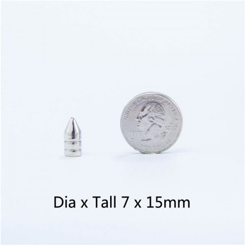 "4/5"" Notched Bullet Spike (7x15mm)"