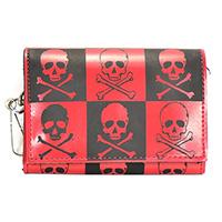 Skull Checks Wallet by Funk Plus