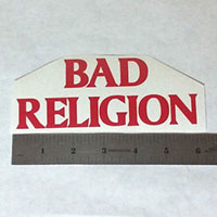 Bad Religion- Logo Window Sticker