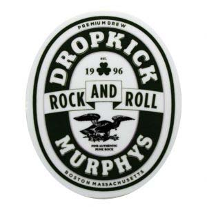 Dropkick Murphys- Rock And Roll sticker (st301)