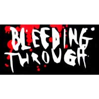 Bleeding Through- Logo sticker (st116) (Sale price!)