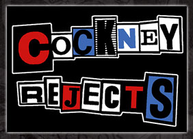 Cockney Rejects- Logo sticker (st522) (Sale price!)