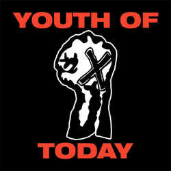Youth Of Today- Fist sticker (st517)