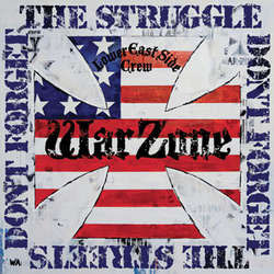 Warzone- Don't Forget The Struggle sticker (st523)
