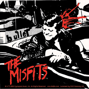 Misfits- Bullet sticker (st430)