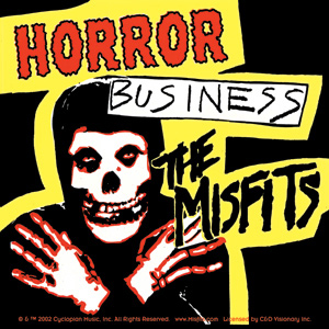 Misfits- Horror Business sticker (st409)