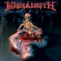 Megadeth- The World Needs A Hero sticker (st330)