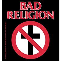 Bad Religion- Logo & Crossbuster sticker (st302)