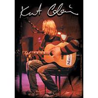 Kurt Cobain- Nixon Guitar sticker (st337)