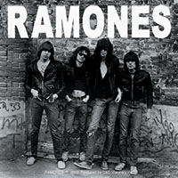 Ramones- First Album Cover sticker (st303)