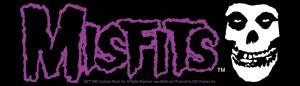 Misfits- Logo & Skull sticker (st433)