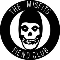 Misfits- Fiend Club Ruboff Window Sticker