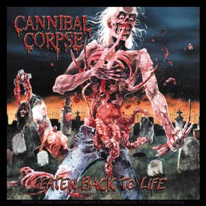 Cannibal Corpse- Eaten Back To Life sticker (st420)