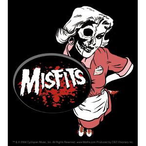 Misfits- Waitress sticker (st418)