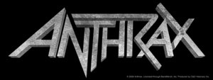 Anthrax- Logo sticker (st531)