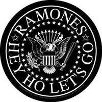 Ramones- Presidential Seal (Black) sticker (st303)