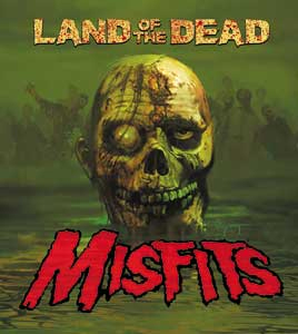 Misfits- Land Of The Dead sticker (st435)