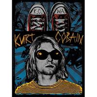Kurt Cobain- KCWA sticker (st339)