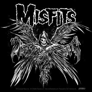 Misfits- Descending Angel sticker (st436)