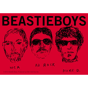 Beastie Boys- Sketches sticker (st669)