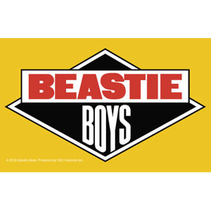 Beastie Boys- Logo sticker (st670)