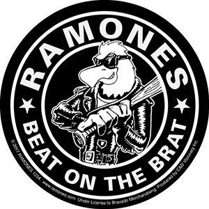 Ramones- Beat On The Brat sticker (st201)