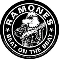 Ramones- Beat On The Brat sticker (st305)