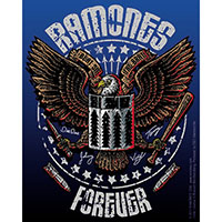Ramones- Forever sticker (st309)