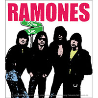 Ramones- 53rd & 3rd sticker (st31)