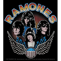 Ramones- Wings Band Pic sticker (st30)