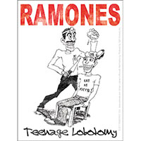 Ramones- Teenage Lobotomy sticker (st310)