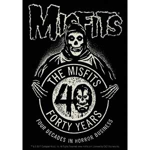 Misfits- 40 Years sticker (st424)