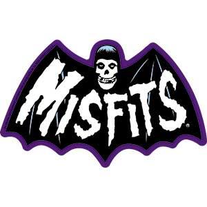 Misfits- Bat Fiend sticker (st427)