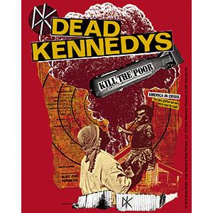 Dead Kennedys- Kill The Poor sticker (st444)