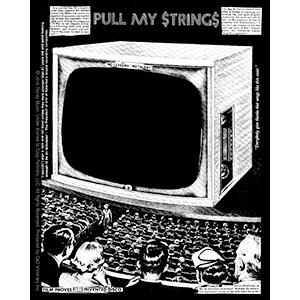 Dead Kennedys- Pull My Strings sticker (st447)