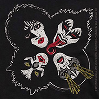 Kiss- Faces sticker (st448)