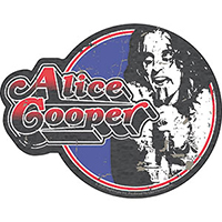 Alice Cooper- Circle Pic sticker (st204)