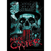 Alice Cooper- Bloody Skull sticker (st314)