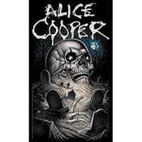 Alice Cooper- Graveyard sticker (st206)