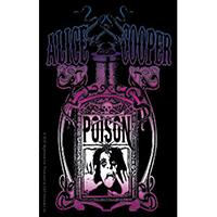 Alice Cooper- Poison Bottle sticker (st207)