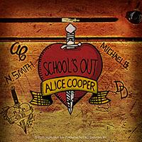 Alice Cooper- School's Out sticker (st315)