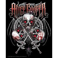 Alice Cooper- Skulls sticker (st209)